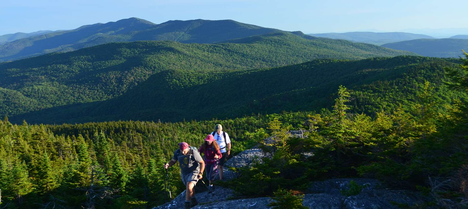 Hiking the Long Trail in Vermont's Green Mountains